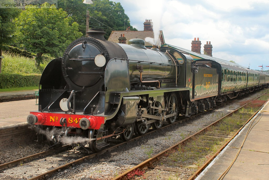 The Southern's premier freight locomotive