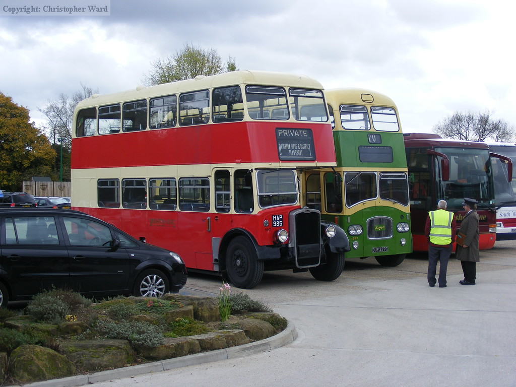 Bus line-up at Sheffield Park