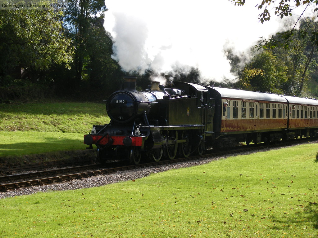 5199 catches the shadows at West Hoathly