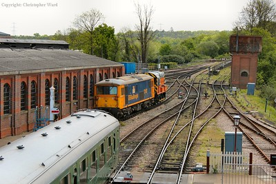 73107 remains at Sheffield Park a few weeks after the Diesel Gala