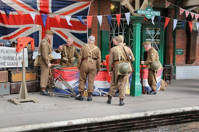 Some of the local Home Guard