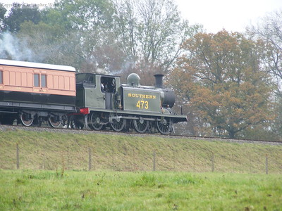 B473 with LSWR 1520 in tow