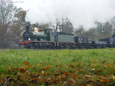 592 returns the goods train to Horsted Keynes
