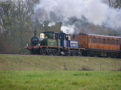 The two P class locomotives match one another perfectly