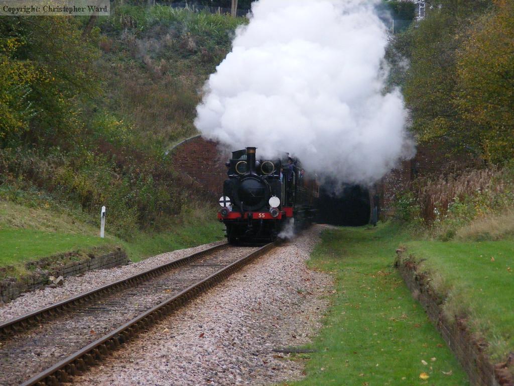 Stepney runs through the old station