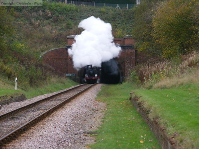 Having stopped at the south end of the tunnel, the Brighton engines give it some welly up the gradient