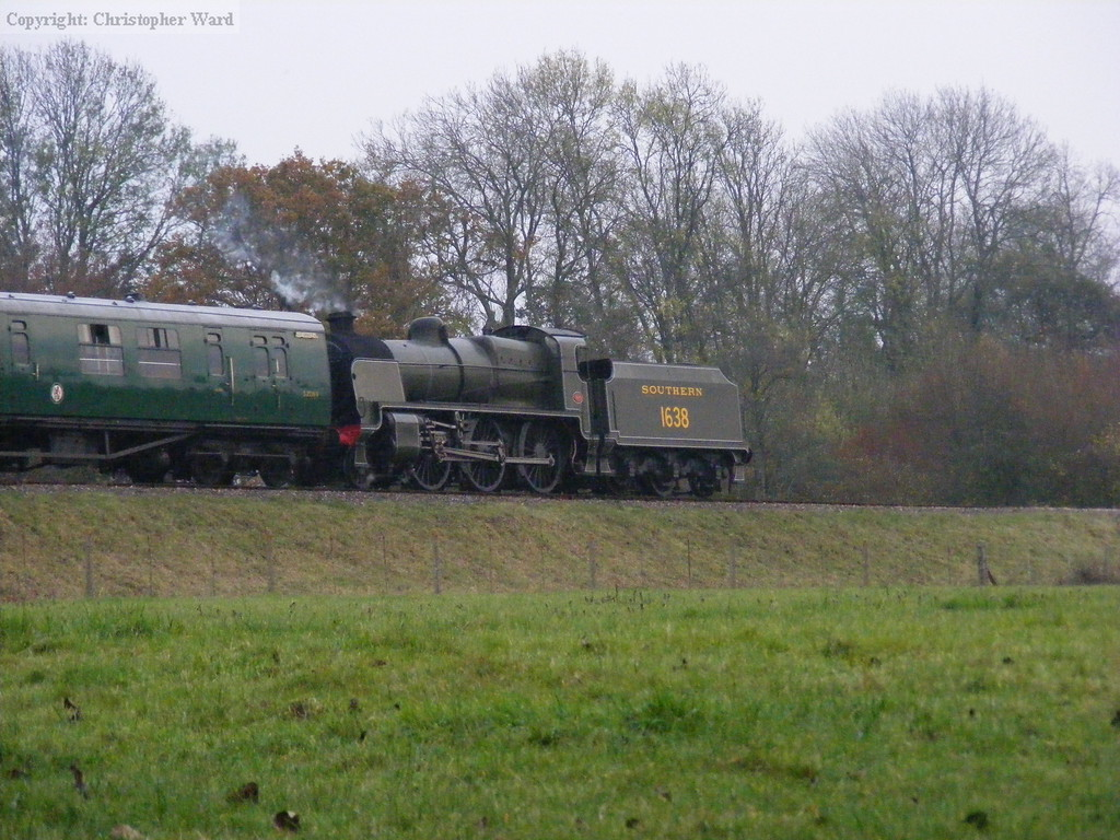 1638 works the down train