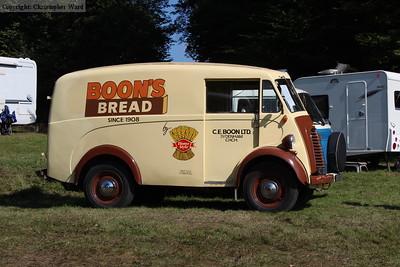 A classic van
