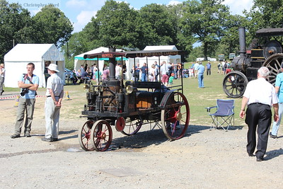 A steam powered car