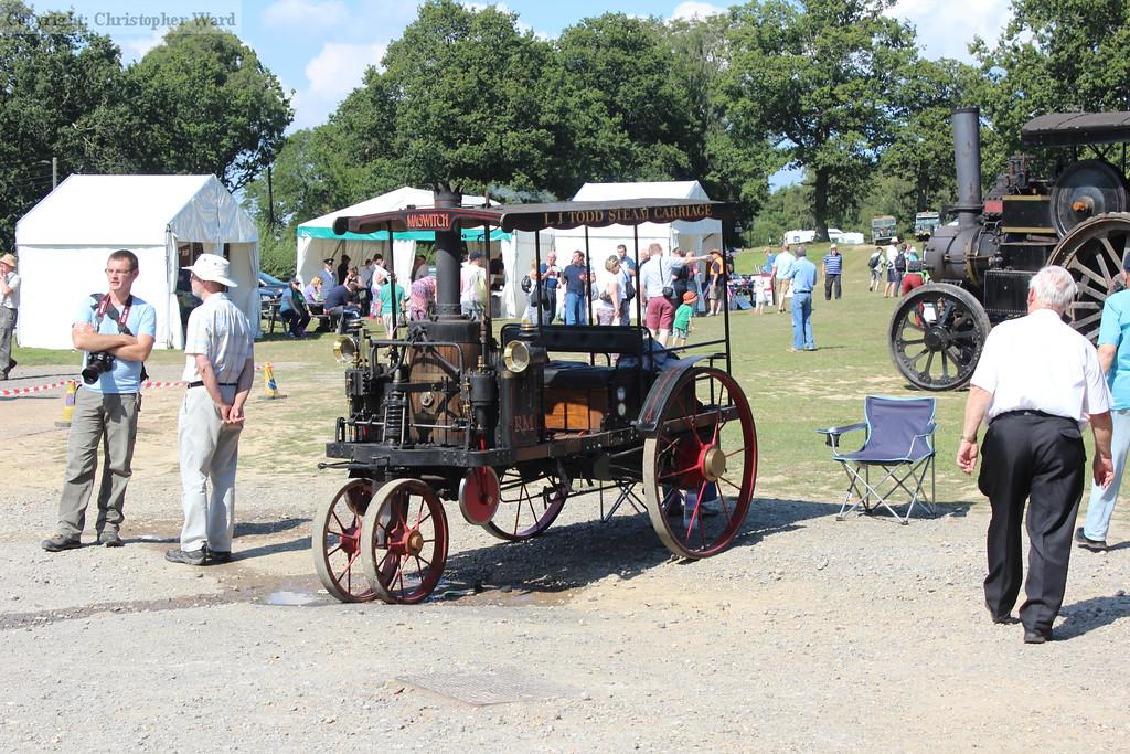 A steam powered car