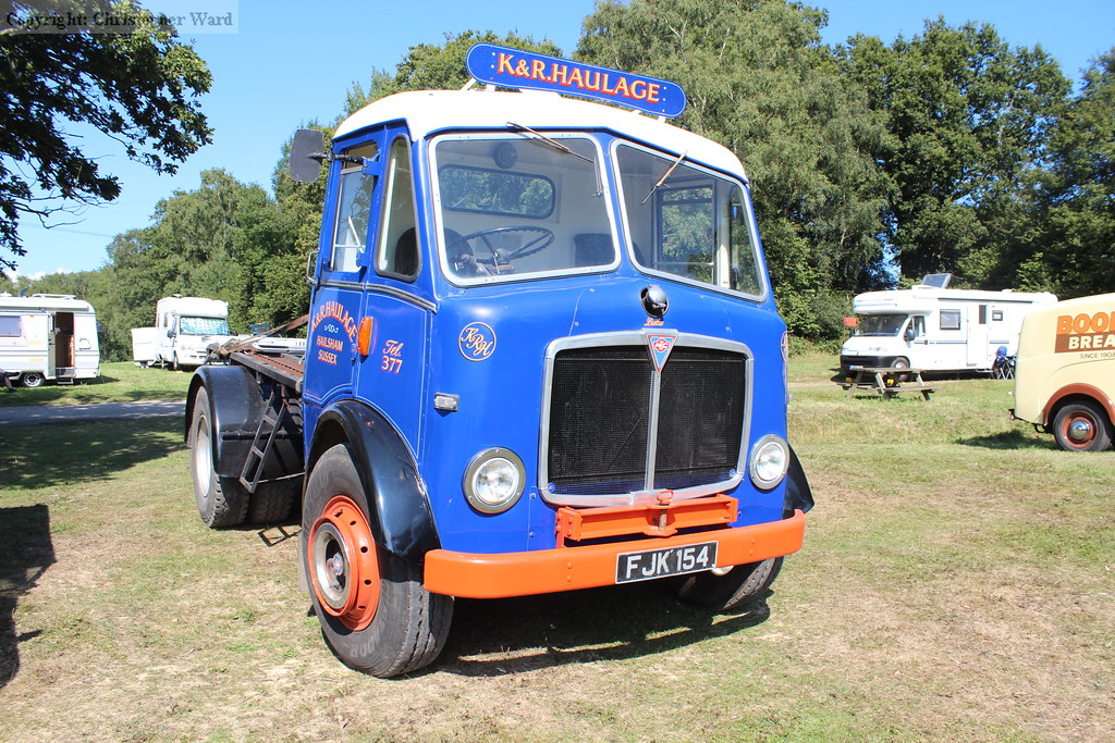 The preserved lorry