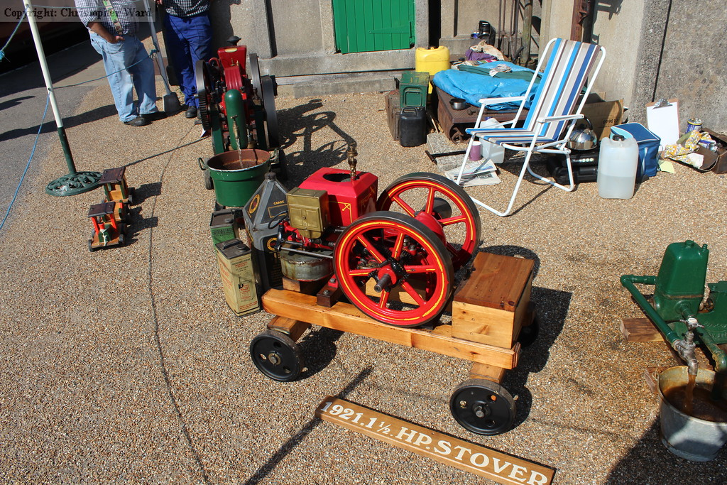 The colourful machinery