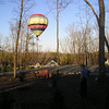 Randal Was Working Outside When the Hot Air Balloon Appeared