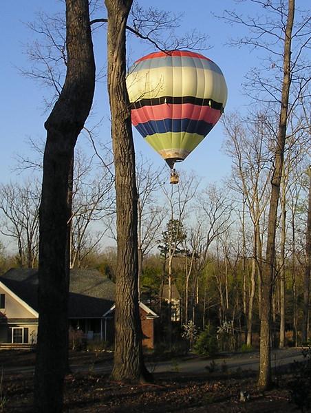 Honey, We've Got Company Coming - Hot Air Balloon