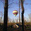 Got a Bit of Wind and Moving On Down the Road - Hot Air Balloon