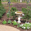 Bluebird Corner - Bird Bath and Feeders