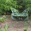 Butterfly Bench Is Getting Secluded