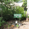 Our Watkins Sign From Driveway<br /> Charlie Allred made this for us.