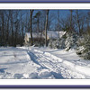 Our Home The Day After The Snowstorm 12-20-09  Photo by Kathy Pol
