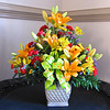 Gorgeous Flower Arrangement From Kathy From Bob's Celebation Service