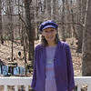 Donna in Purple - 3/21/14<br /> Hat from Benjamin, Earrings from Benjamin and Butterfly from Auntie Carolyn.