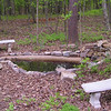 Placement of Benches and Extra Large Rocks at Pond