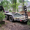 Trailer with Pond Materials