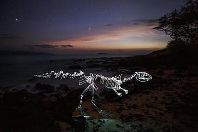 Othnielosaurus says 'Aloha'