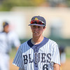 5/27/182:49:26 PM --- San Luis Obispo Blues earned their second win of the season over the Santa Maria Packers at Sinsheimer Stadium in San Luis Obispo, CA on May 27, 2018. <br /> <br /> Photo by Owen Main