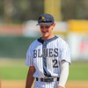 5/27/182:49:23 PM --- San Luis Obispo Blues earned their second win of the season over the Santa Maria Packers at Sinsheimer Stadium in San Luis Obispo, CA on May 27, 2018. <br /> <br /> Photo by Owen Main