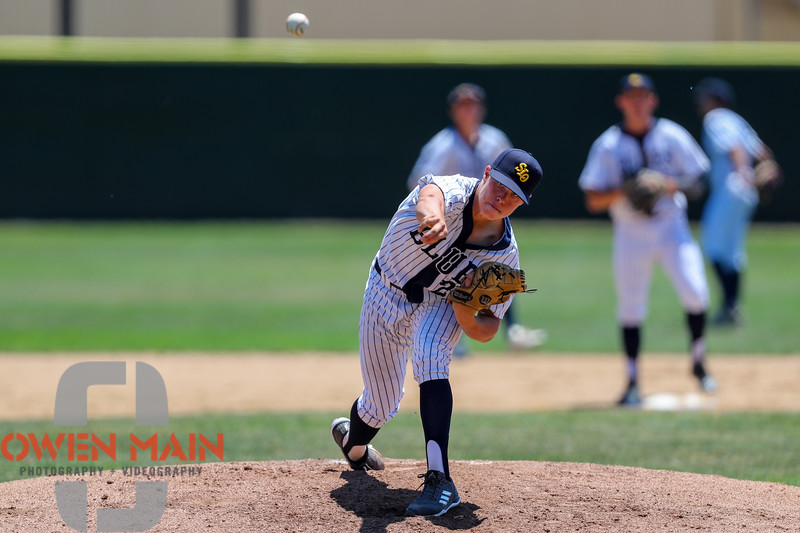 San Luis Obispo Blues faced the Santa Maria Packers at Sinsheimer Stadium in San Luis Obispo, CA on May 28, 2018. 5/28/1812:41:53 PM <br /> <br /> Photo by Owen Main