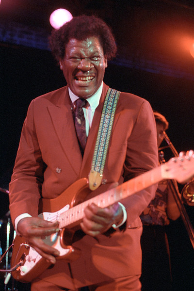 Earl King performing live on stage at Slim's in San Francisco on February 6, 1993.