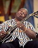 B.B. King performs at the New Orleans Jazz & Heritage Festival on April 27, 2001.