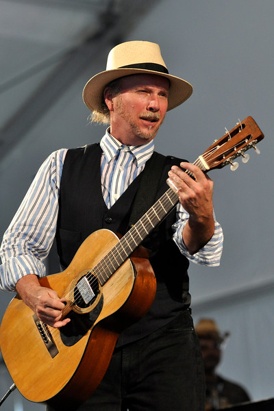 Roy Rogers performing live at the New Orleans Jazz & Heritage Festival on April 24, 2009.