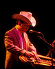 Junior Brown performing live on stage at the Warfield Theater in San Francisco on May 22, 1992.