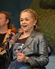 Etta James performs at the New Orleans Jazz & Heritage Festival on April 29, 2006.