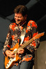 Tab Benoit performing live at the New Orleans Jazz & Heritage Festival on April 29, 2005.