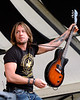 Keith Urban performs at the New Orleans Jazz & Heritage Festival on May 5, 2006.