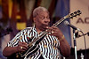 B.B. King performs at the New Orleans Jazz & Heritage Festival on 4-27-01.