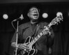 Chicago blues singer Jimmy Rogers performs at Yoshi's in Oakland in 1995.