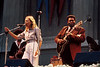 Joni Mitchell and B.B. King perform at the Bread & Roses Festival at the Greek Theater in Berkeley in June 1981.