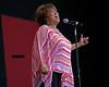 Mavis Staples performs at the Monterey Jazz Festival on 9-17-05.