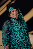 Ruth Brown performing at the New Orleans Jazz & Heritage Festival on April 29, 1998.