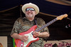 Duke Robillard performs on the Blues Stage at the New Orleans Jazz & Heritage Festival on April 24, 1999.