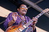 Little Milton performs at the New Orleans Jazz & Heritage Festival on April 29, 1995.