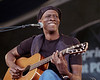 Keb Mo' performs at the New Orleans Jazz Z& Heritage Festival on May 4, 2001.
