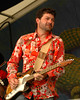 Tab Benoit performing live at the New Orleans Jazz & Heritage Festival on May 5, 2006.