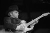 Merle Haggard performs at the Oakland Coliseum on January 19, 1990.
