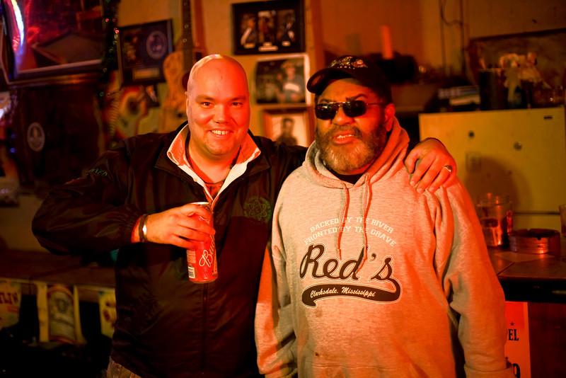 Trevor Dinn and RED