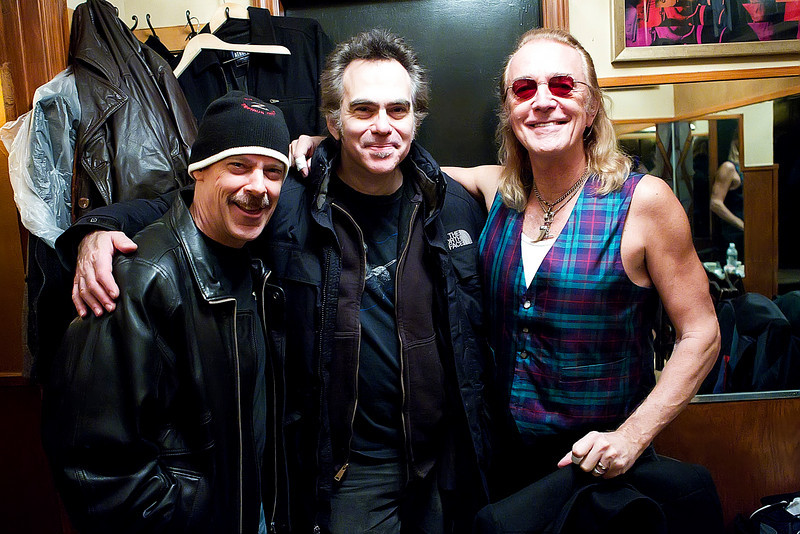 Foghat Iridium Jeff Simon ,Jon Paris and Roger Earl